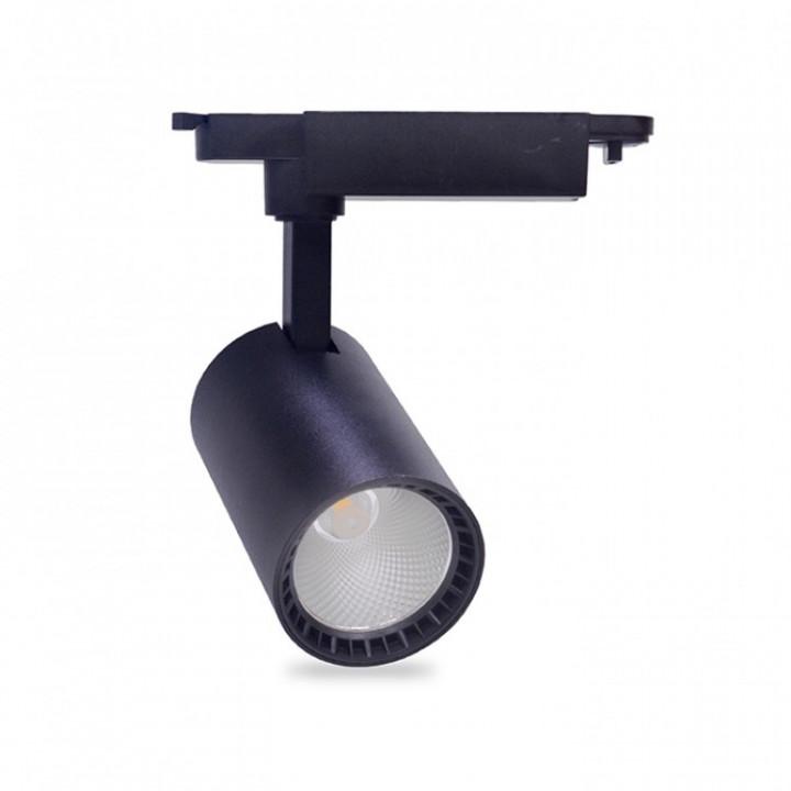 Світильник світлодіодний трековий Feron 12W AL102 960Lm 4000K чорний IP40