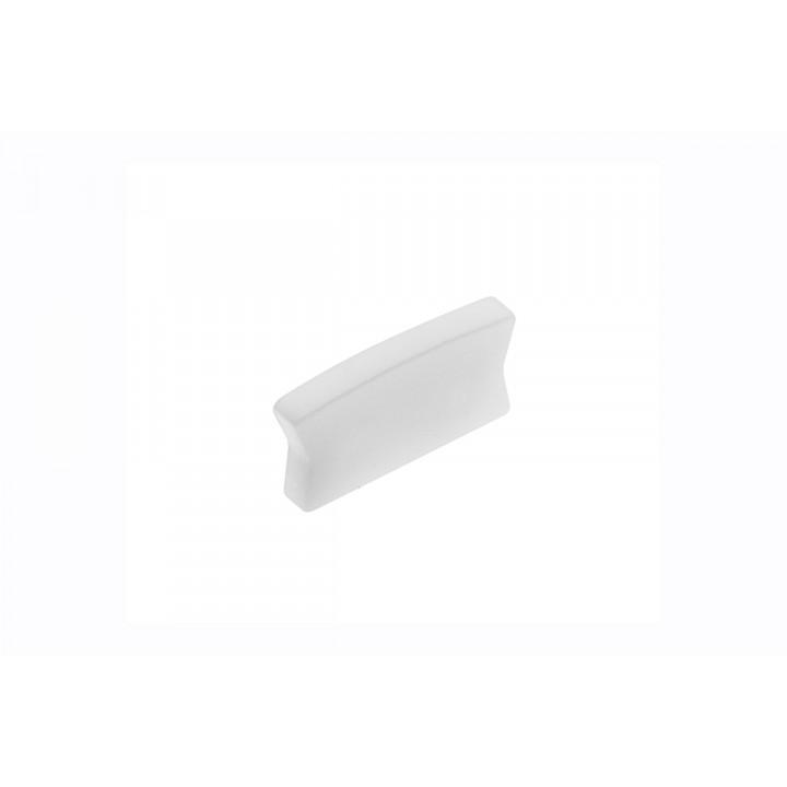 Заглушка для профілю GTV LED GLAX Mini (накладна, срібляста, лакована)
