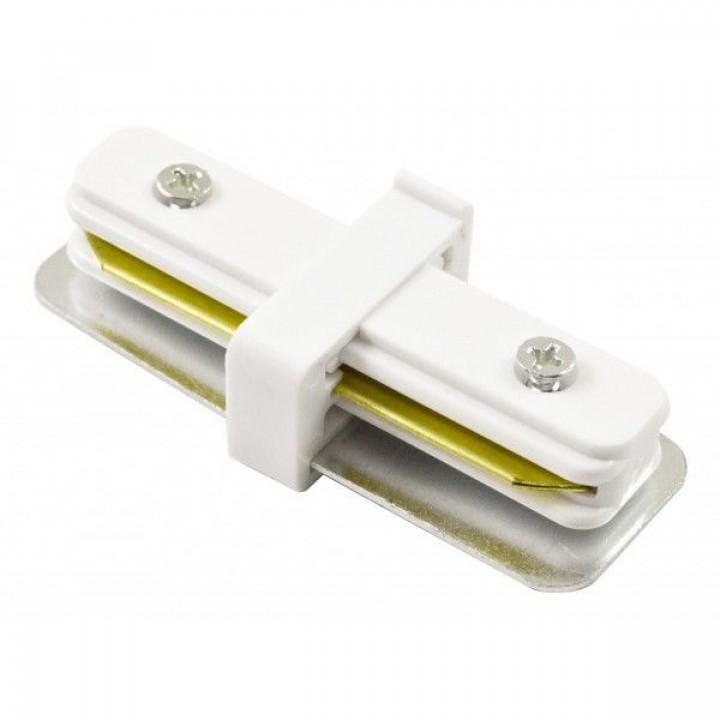 Зєднання пряме/трапеція для трекових світильників, Feron LD1000, білий