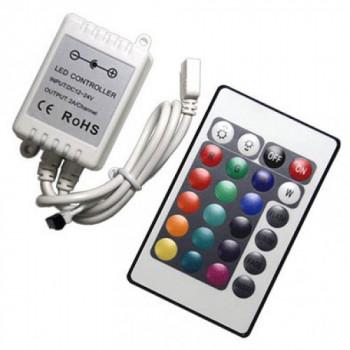 Контролер RGB №21/1 mini, 6A , IR, 24 кн