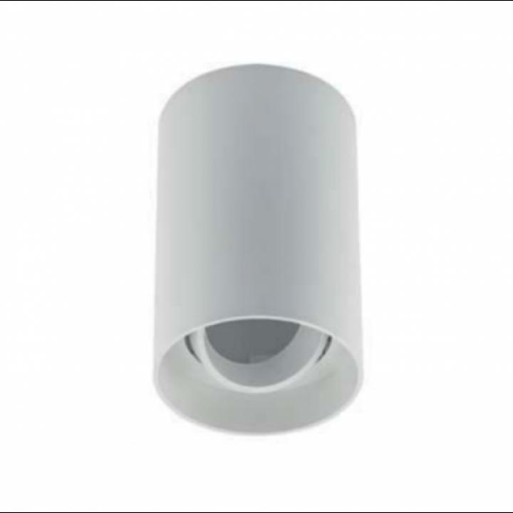 OS-RST80125OK1-10 Світильник стельовий RESTO, PC, 80x125mm, IP20, max.20W, круглий, білий пластик