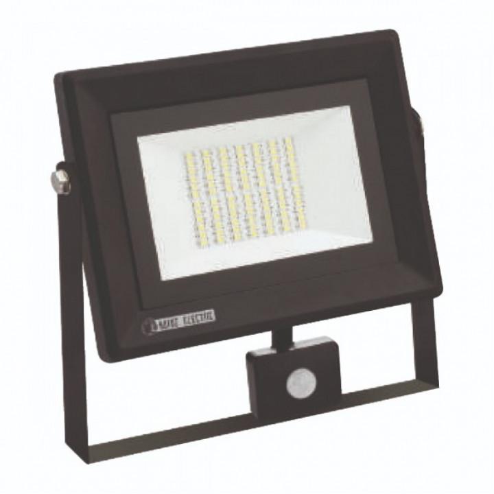 Прожектор світлодіодний Horoz Pars/S 50 50W 6400K ІР65 + д.руху
