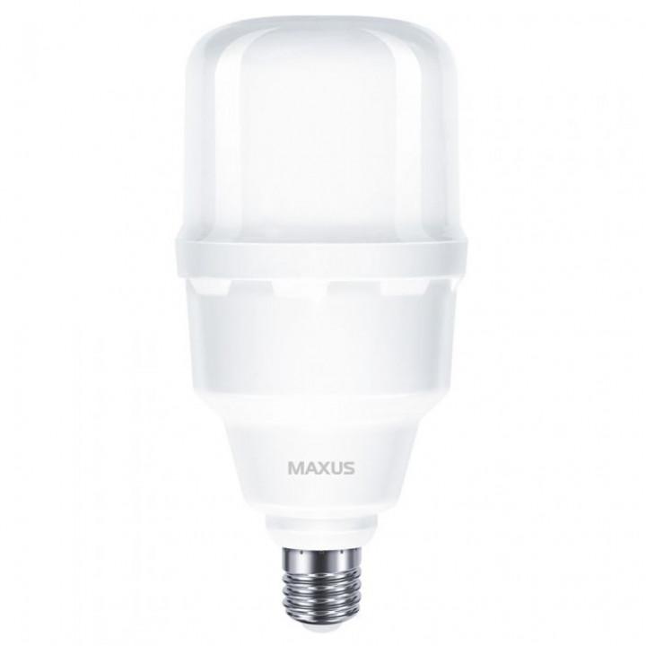 1-MHW-7305, Лампа світл. Maxus HW 30W 5000K, E27/E40