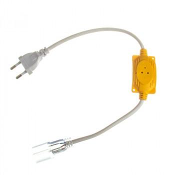 #51/1, Адаптер живлення для LED NEON, 5mm.+ конектор 2pin, 220V, 1017886