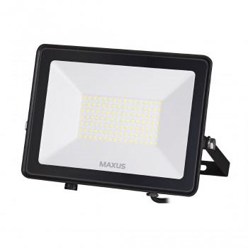 1-MFL-04-10050, Прожектор MAXUS FL-04, 100W, 5000K Black
