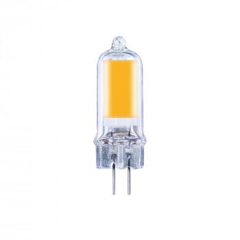 Лампа світлодіодна Etron 1-ELP-077 G4 GLASS 4W 3000K 12V