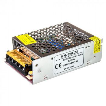 Блок живлення MN-120-24, 24V, 5A 1013391