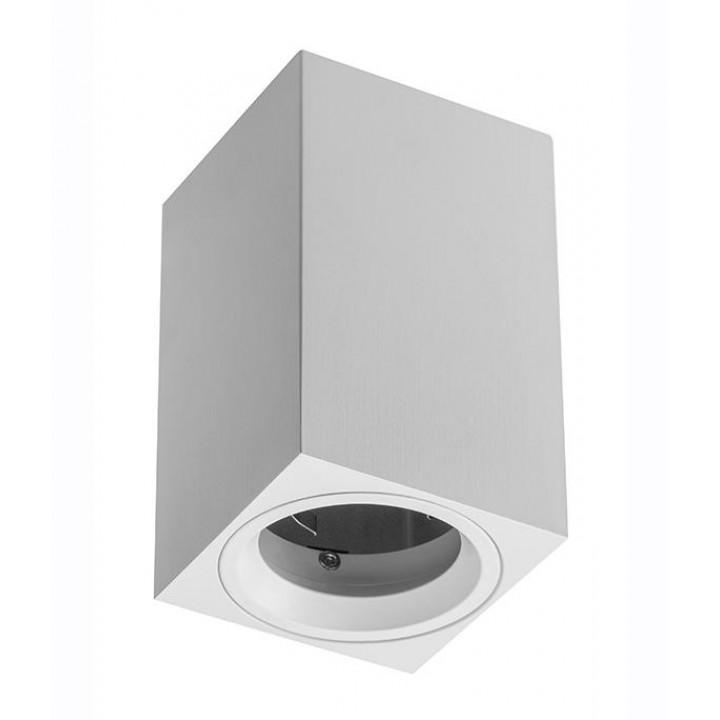 Світильник світлодіодний GTV SENSA MINI, під GU10 max.50W, IP20 білий, квадрат 70x115