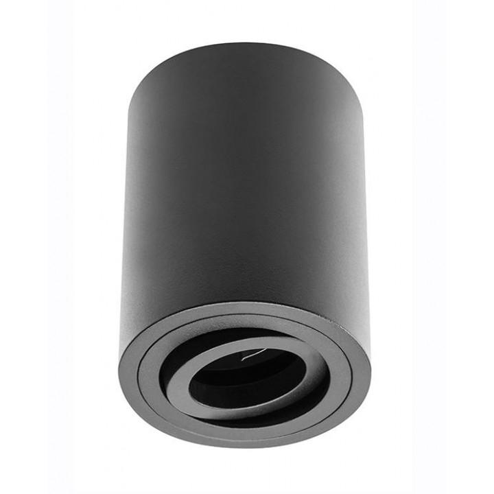 Світильник світлодіодний GTV SENSA, під GU10 max.50W, IP20 чорний, круг 85*115