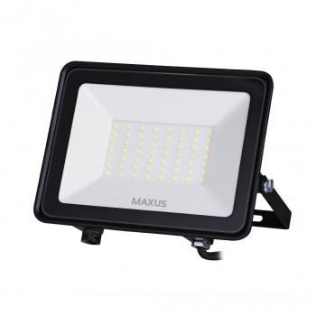 1-MFL-04-5050, Прожектор MAXUS FL-04, 50W, 5000K Black