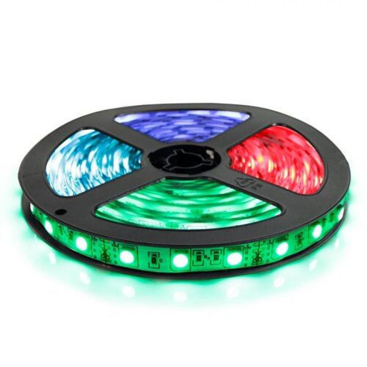 Стрічка світлодіодна SMD 5050, 60d/m, 14.4W/m, 720lm/m, IP20, RGB (5050RGB60) 1015427