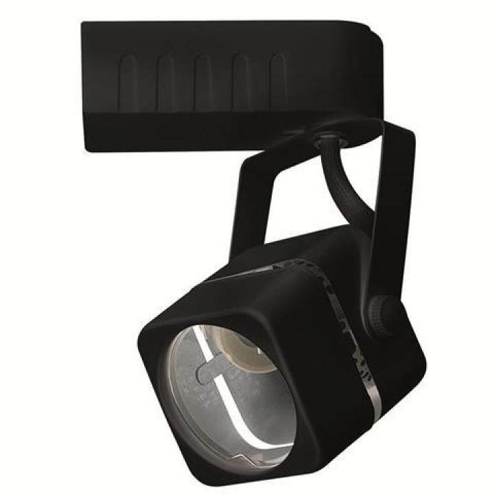 Світильник трековий MR16, GU10, 220-240V, RABAT,чорний квадрат, 115-002-0001-020