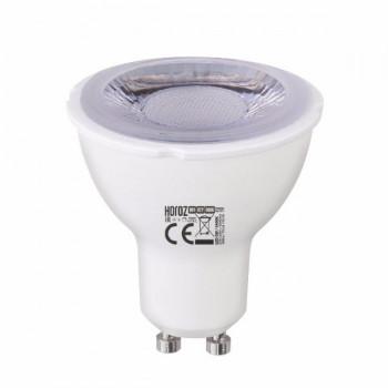 Лампа світлодіодна Horoz Vision-6 MR16 6W 3000K 220V GU10 дімована