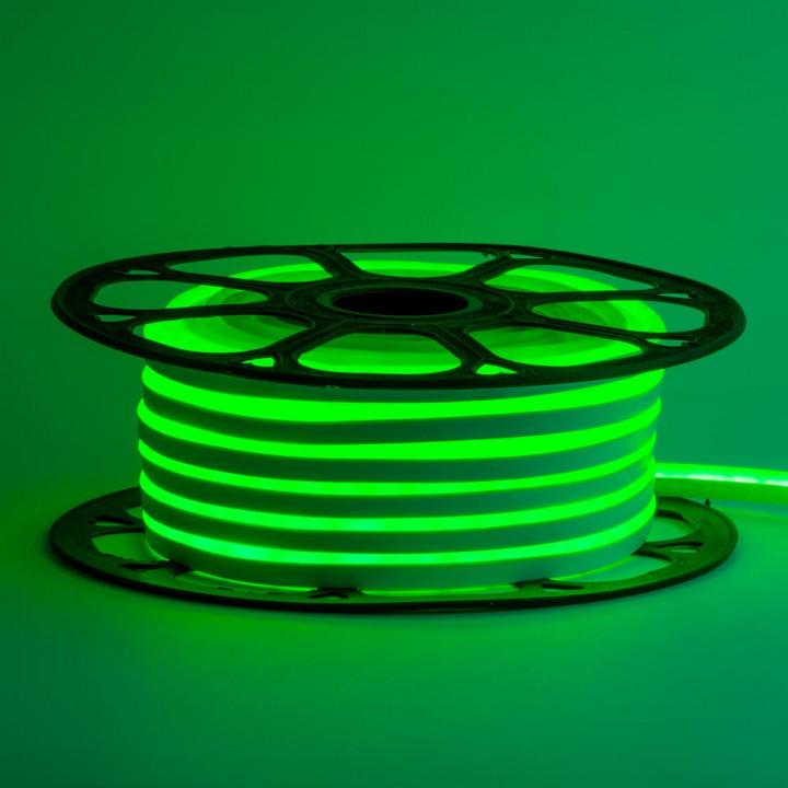 Стрічка світлодіодна NEON 2835G120 12V 11W/m, зелений, IP65, 6-12mm  AVT St-54 1018082