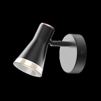 Світильник спотовий MSL-02C 4W 4100K black