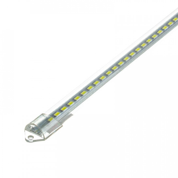 Лінійка алюмінієва 12W 1м 220V MTK2-5730W 6000K прозора, 1011935