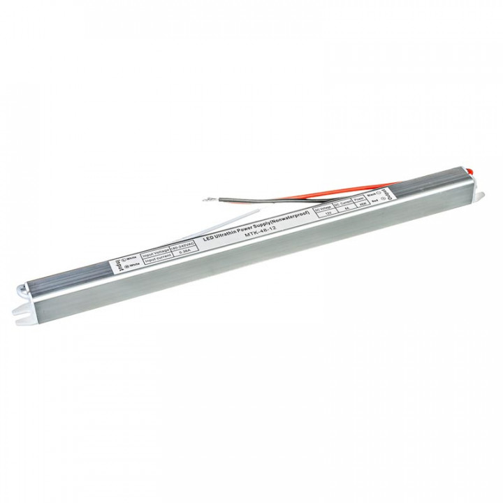 Блок живлення MTK-48-12, 12V, 4A slim, IP20   1013417