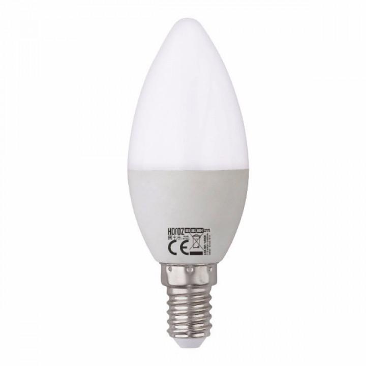 Лампа світлодіодна Horoz Ultra-6 C37 6W E14 4200К