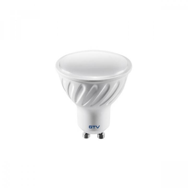 Лампа світлодіодна димерна GTV GU10 7W 220V 3000K 560Lm дим.