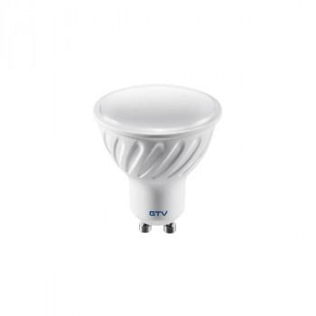 Лампа світлодіодна димерна GTV GU10 7W 220V 4000K 560Lm