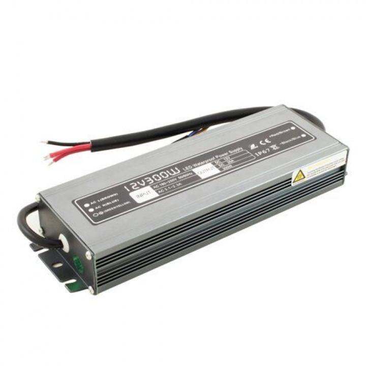 Блок живлення герметичний BIOM WBP-300 12V 300W IP67 Prof