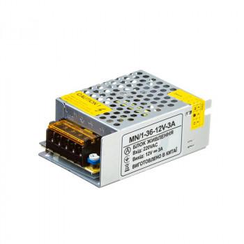 Блок живлення MN-36-12, 12V, 3A   1018986