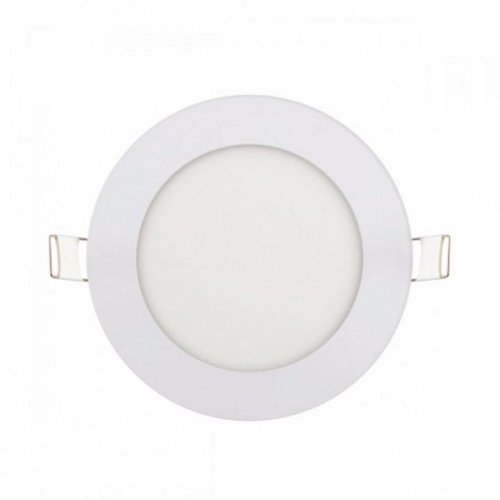 Світильник врізний Horoz Slim-6 6W 6400К d-120мм 270Lm, SLIM-6