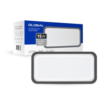 Світильник світлодіодний GlobalLED 1-GBH-08-1550-R, 15W 5000K