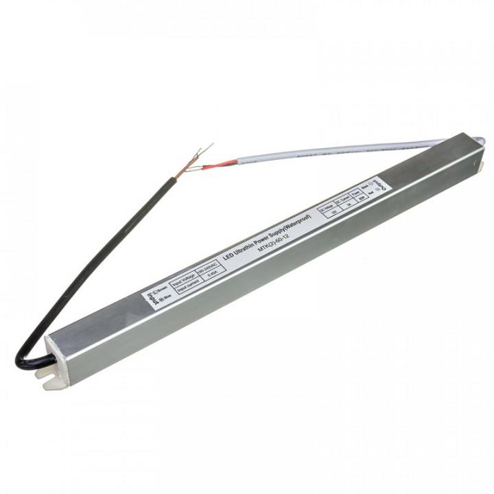 Блок живлення герметичний 60W slim 12V  IP67 MTK(2)-60-12, 1013427