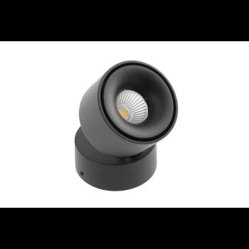 Світильник GTV LED BIANCO, 8W, IP20, 4000K, КРУГ ЧОРНИЙ LD-BNC8WOC-NB