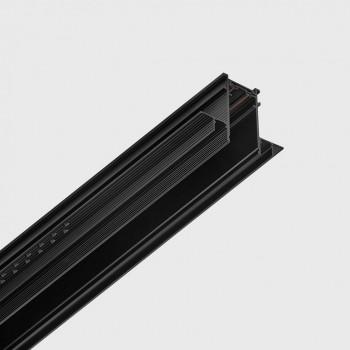 LTX 06.R200.BK Трек вбуд. IN_LINE TRACK R 2000,L2000mm, W30mm, H54mm, чорний (магнітний)