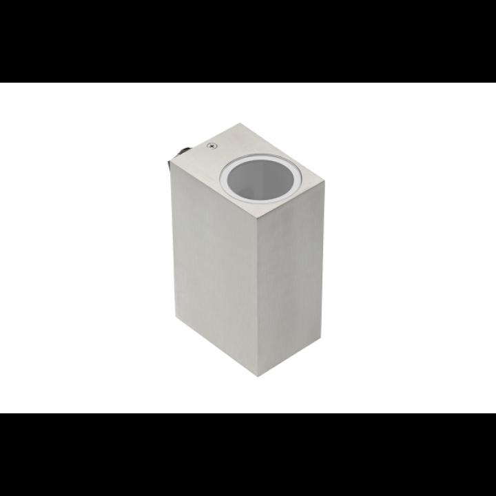Світильник GTV фас. двонапр. TIAGO KW, GU10, 2*35W, IP54, INOX