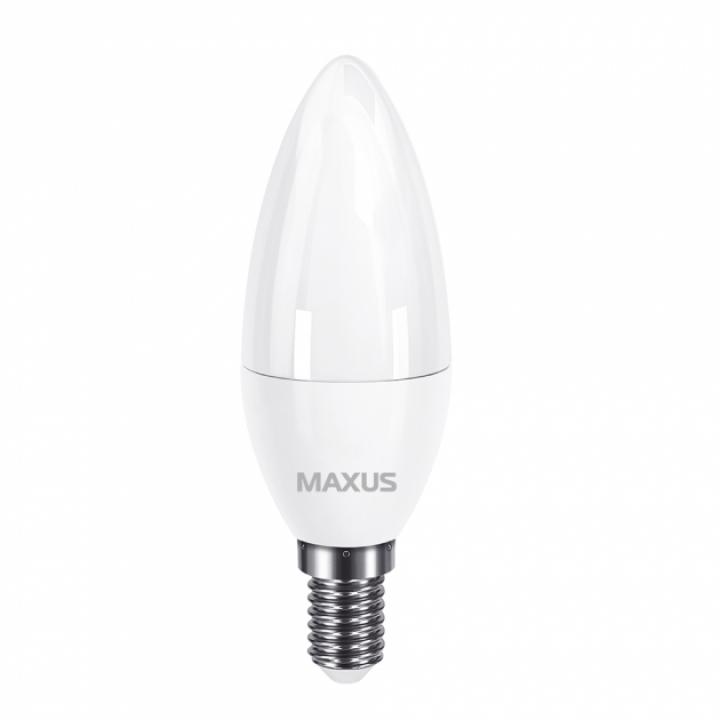 Лампа світлодіодна Maxus C37  7W 3000K 220V E14  1-LED-733