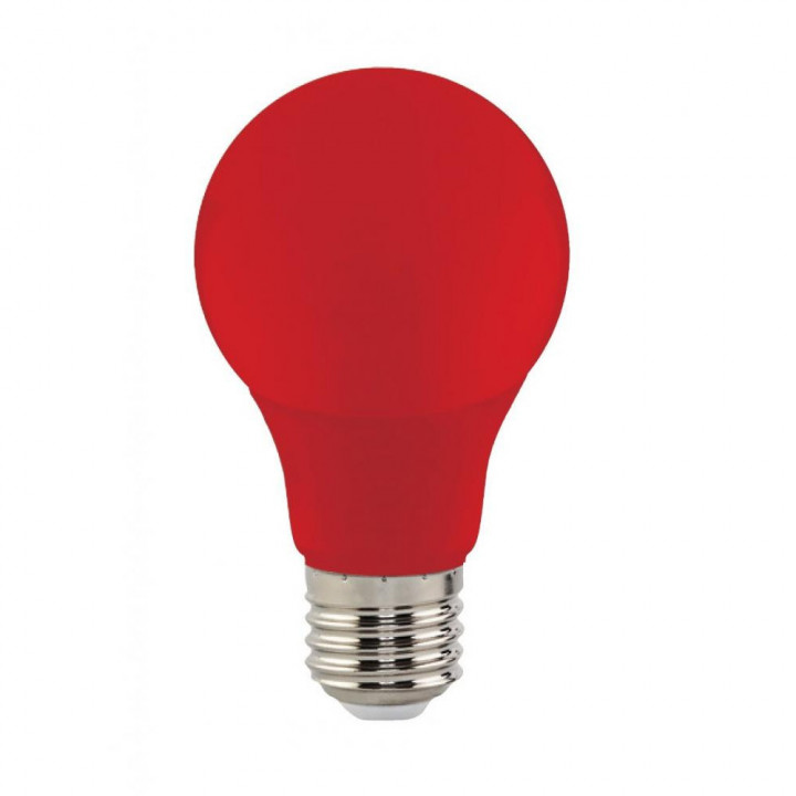 Лампа світлодіодна Horoz Spectra 3W E27 червона