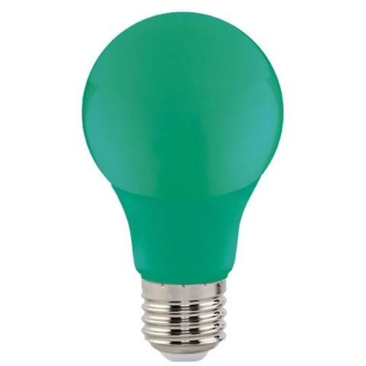 Лампа світлодіодна Horoz Spectra 3W E27 зелена