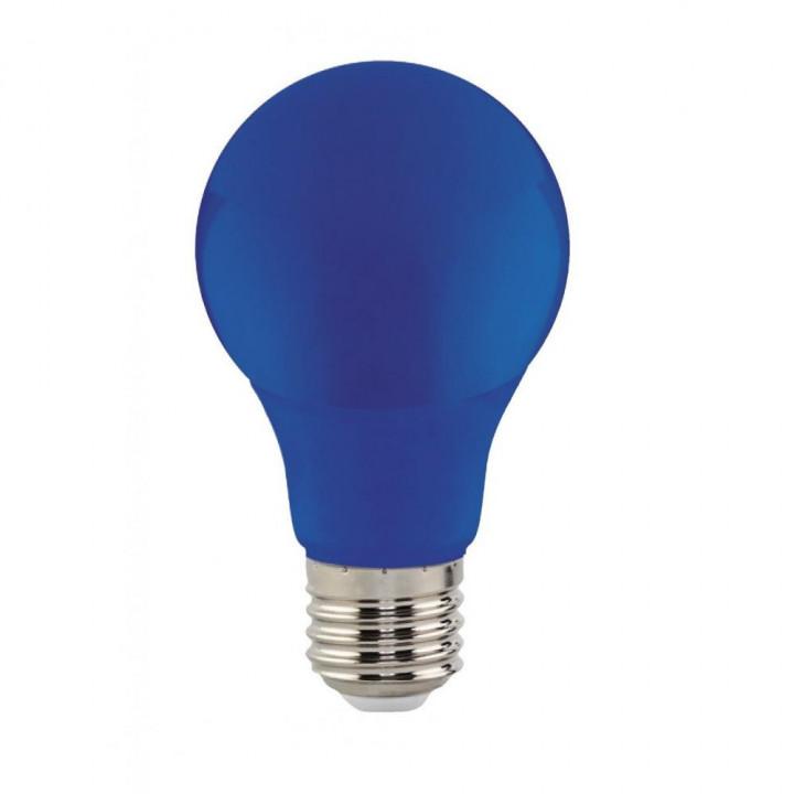Лампа світлодіодна Horoz Spectra 3W E27 синя