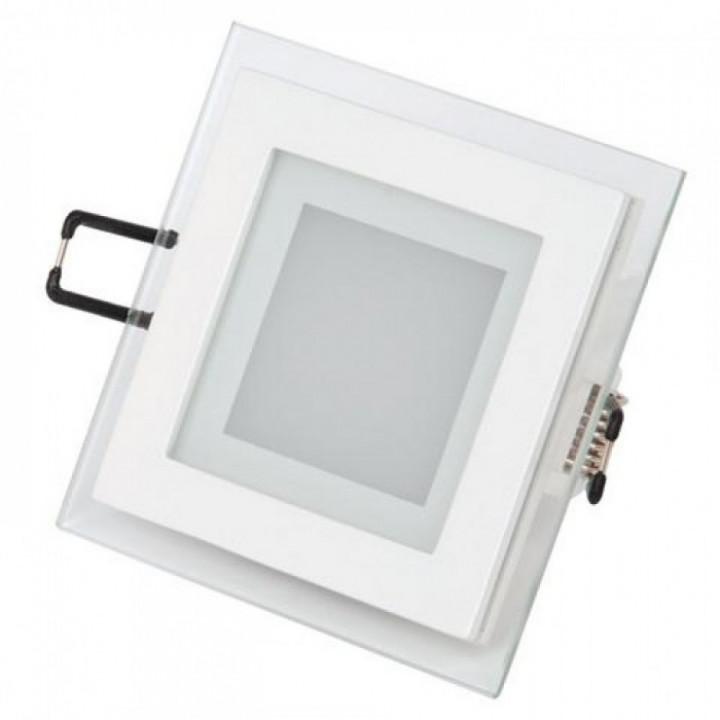 Світильник врізний Horoz Maria-6 HL684LG 6W біл.4200К 96*96мм 480Lm