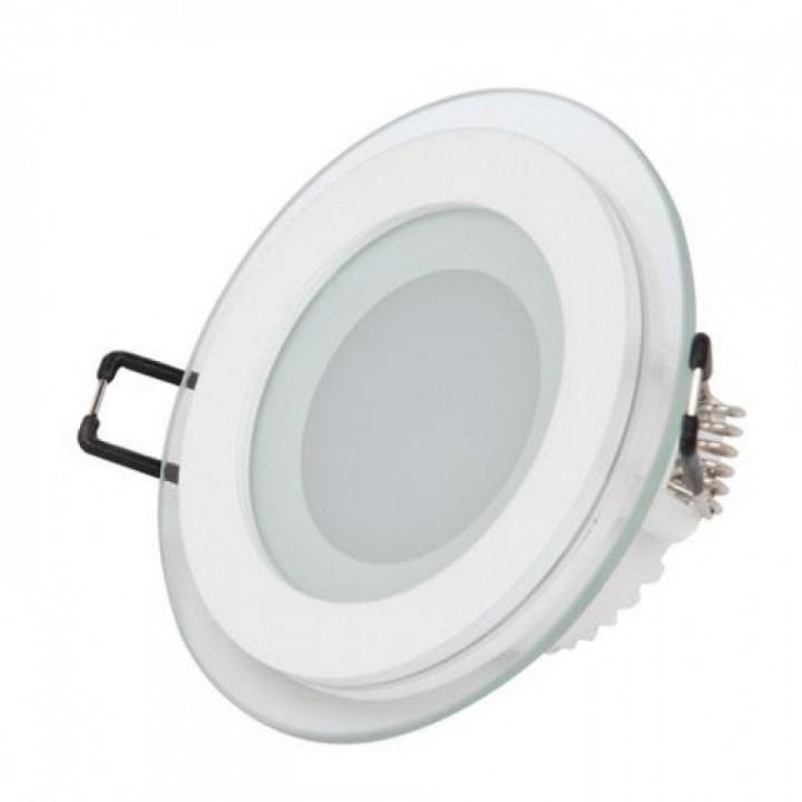 Світильник врізний Horoz Clara-6 HL687LG 6W біл.4200К d-96мм 480Lm