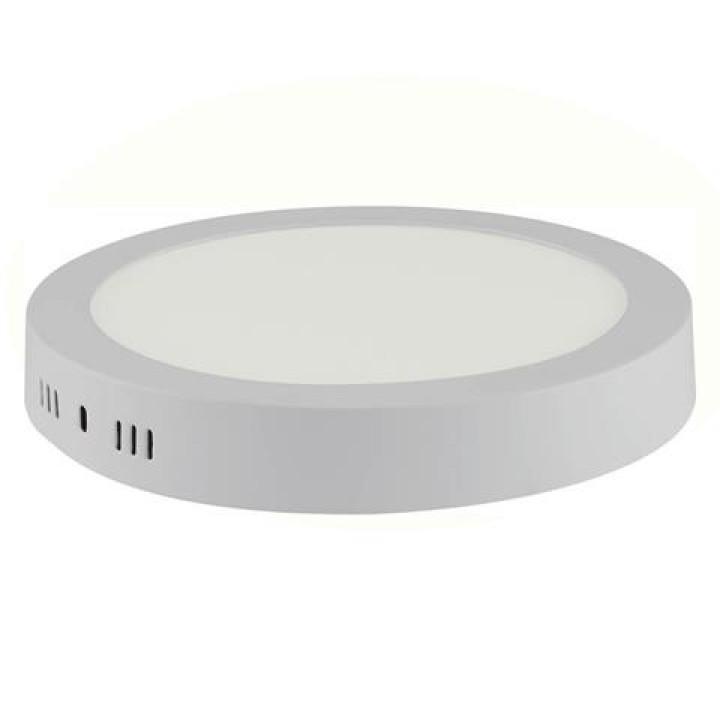 Світильний світлодіодний накладний Horoz Carolina-18 18W 4200K біл. d-225мм 1300Lm