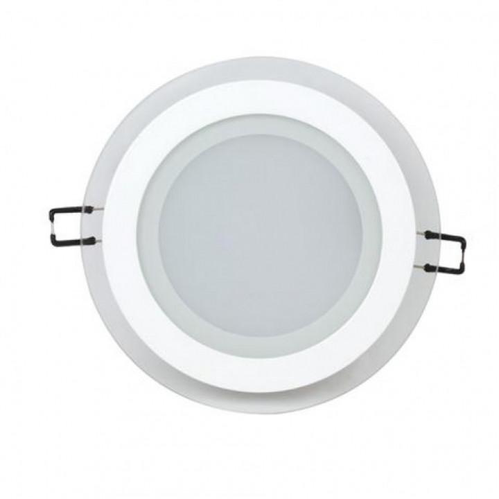 Світильник врізний Horoz Clara-12 HL688LG 12W біл.6400К d-160мм 744Lm