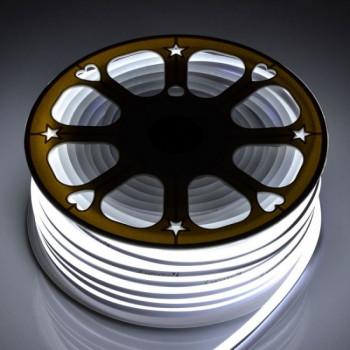 Стрічка світлодіодна AVT-NEON 2835CW120 7W/m, 5mm, IP65, хол.білий , St-51