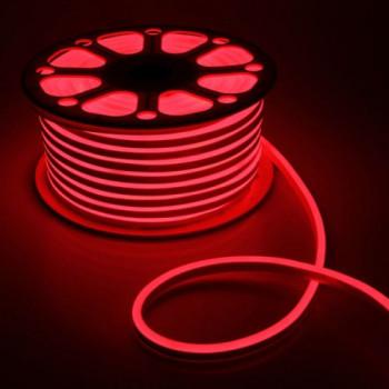 Стрічка світлодіодна NEON 2835R120 12V 6W, красный, силикон, IP65, 6-12mm  AVT St-54, 1018081