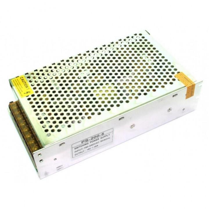 Блок живлення 5V 200W 40А, PS-200-5S