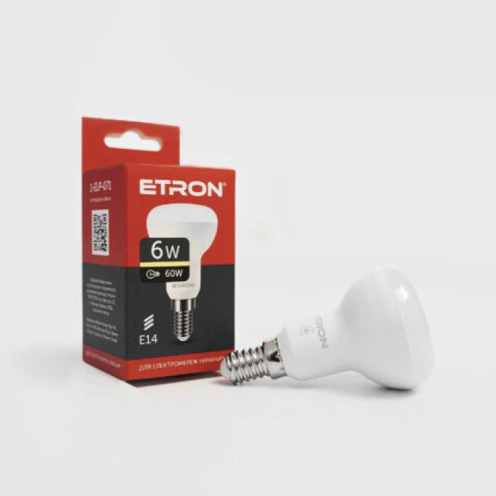 Лампа світлодіодна Etron Light Power 1-ELP-071  R50 6W 3000K 220V E14