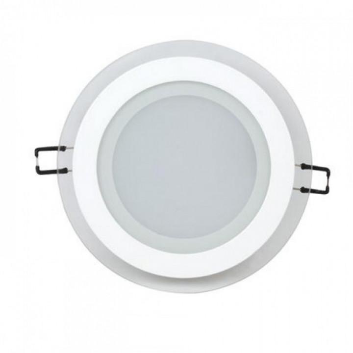 Світильник врізний Horoz Clara-12 HL688LG 12W біл.4200К d-125мм 844Lm
