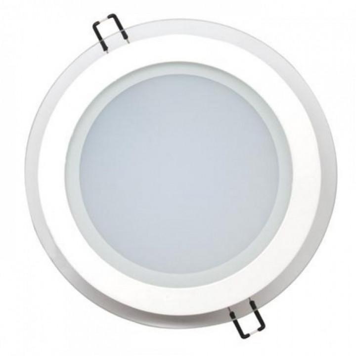 Світильник врізний Horoz Clara-15 HL689LG 15W біл.6400К d-200мм 1150Lm