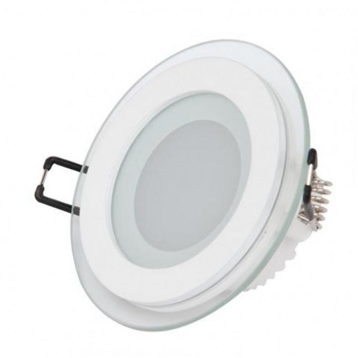 Світильник врізний Horoz Clara-6 HL687LG 6W біл.6400К d-96мм 480Lm