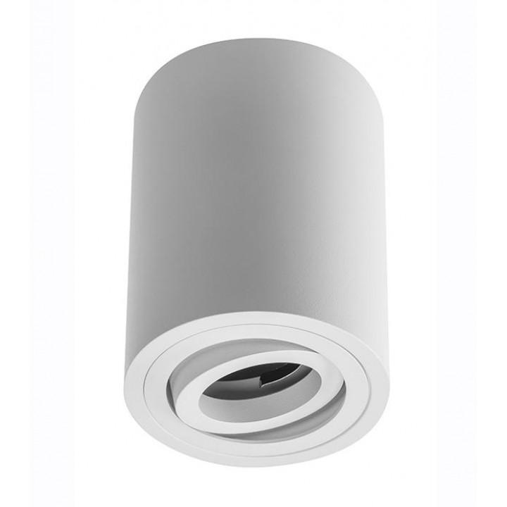 Світильник світлодіодний GTV SENSA, під GU10 max.50W, IP20 білий, круг 85*115