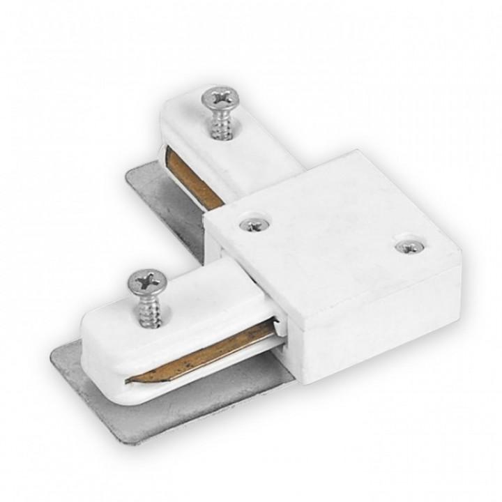 Зєднання кутове/трапеція для трекових світильників Feron LD1001, білий