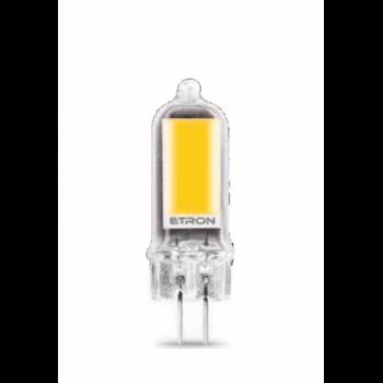 Лампа світлодіодна Etron 1-ELP-078 G4 GLASS 4W 4200K 12V